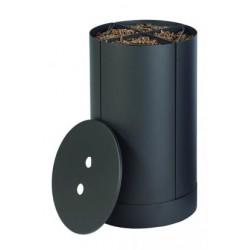 仓库保管员颗粒木材碎片黑霜十九设计