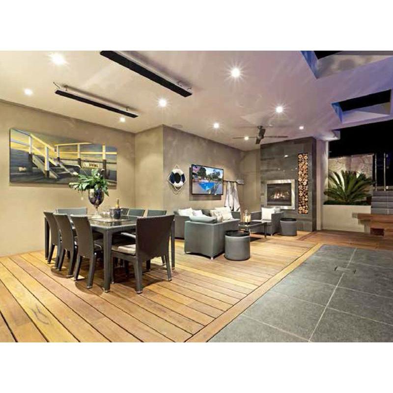 chauffage d 39 ext rieur radian lectrique heatstrip 500w. Black Bedroom Furniture Sets. Home Design Ideas