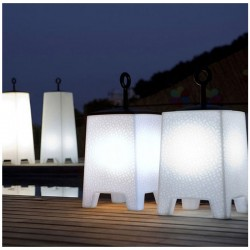 Table lamp Mora Led white H58