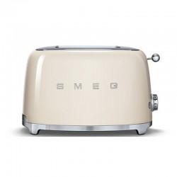 Torradeira Toaster TSF01CREU creme Smeg