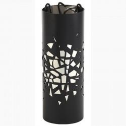 大爆炸磨砂黑色仆人内不锈钢与黑色 dixneuf 设计配件