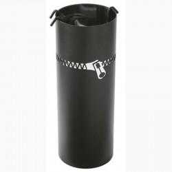 伺服闪电黑色磨砂不锈钢与黑色配件 dixneuf 设计