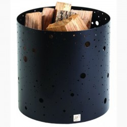 Wood storage see milky way black frosted Dixneuf Design