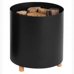 Storage in wood Blend black frosted Dixneuf Design