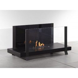 Fireplace ethanol Fire Bench AxiJet I-Blue Automatic Neoflame electronics