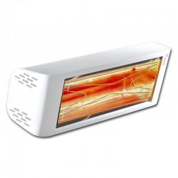 Aquecimento infravermelho Heliosa Hi Design 44 Branco Carrara 2000W IPX5