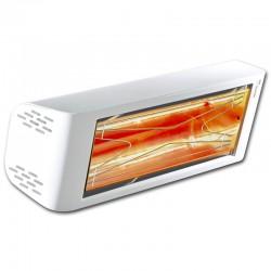Aquecimento infravermelho Heliosa Hi Design 44 Branco Carrara 1500W IPX5