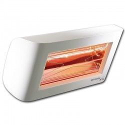 Heating infrared Heliosa Hi Design 55 white Carrara 1500W IPX5