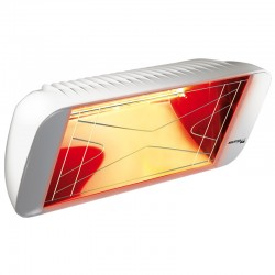 Chauffage Infrarouge Heliosa Hi Design 66 Blanc Carrara 1500W IPX5