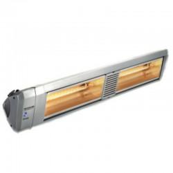 Chauffage Electrique Infrarouge HELIOSA Modèle 99-2 Silver - 4000 W IPX5 Bluetooth