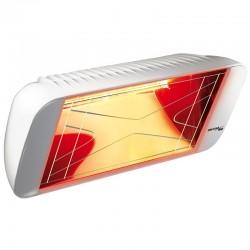 Aquecimento infravermelho Heliosa Hi Design 66 Branco Carrara 2000W IPX5