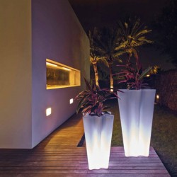 Luminous pot bye bye Vondom led white height 70