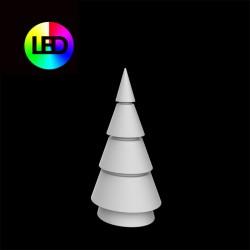 Sapin de Noel Multicolor Forest Vondom Hauteur 150 Led RGBW