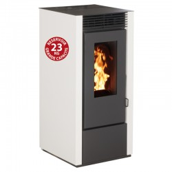 Interstoves 6Kw Marina White pellet stove