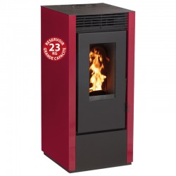 Interstoves 6Kw connected pellet stove with WiFi Marina Bordeaux