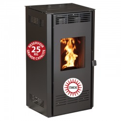 14Kw Etanche 间炉,带滨海黑色遥控器