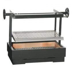 烧烤费鲁克斯到姿势或耐火砖