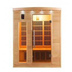 Infrared Sauna Apollon Quartz 3 places France Sauna