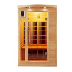 Infrared Sauna Apollon Quartz 2 places France Sauna