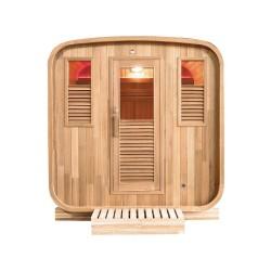 Gaïa Nova 6-seater outdoor sauna Holl's