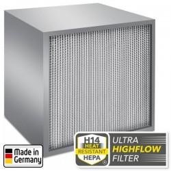 Filtre à particules H14 Ultra-haut débit anti-coronavirus pour TES 200 et TAC V+ Trotec