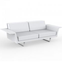 Canapé Vondom Delta sofa blanc 2 places