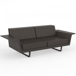 Vondom Delta sofa bronze 3 seater