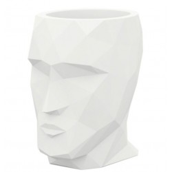 Bac à fleurs Adan Vondom grand modèle hauteur 100 blanc