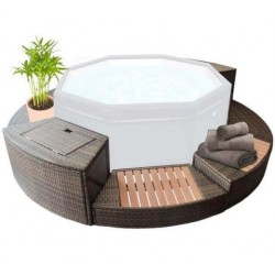 Furniture Kit 8 modules for Spa Octopus 4 to 6 Places NetSpa