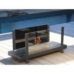 Fire Bench B-One 4L Luxury Neoflame Design BioEthanol Chimney