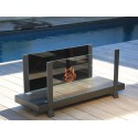 Fireplace bio ethanol Fire Bench B - One 4 L luxury Neoflame Design