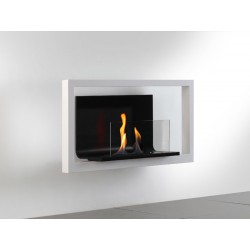 Fireplace bio ethanol Floating Frame Alpina 3 L luxury Neoflame Design