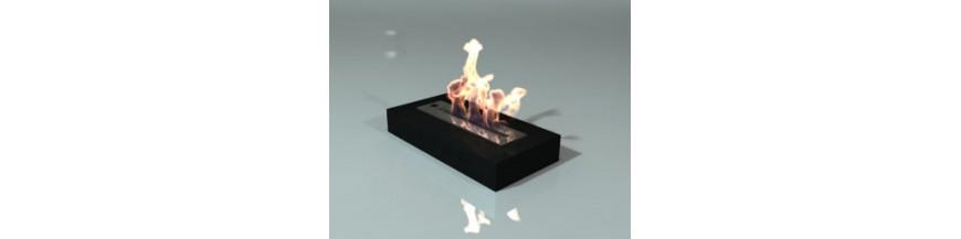 Brûleurs et foyers bio-éthanol