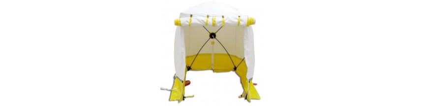 Sito di schermo e tenda